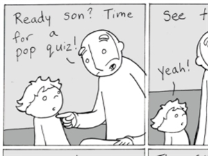 'Quiz' - from Lunarbaboon