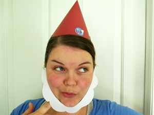How to Make a Paper Gnome Hat