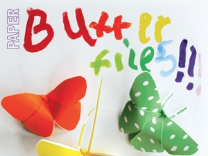 Make your own paper butterflies!