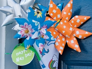 May Day Paper Flower Crafting